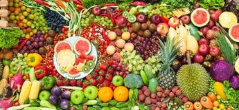 Φρούτα και λαχανικά παραλλαγών στοκ φωτογραφίες