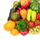 Φρούτα και λαχανικά συλλογής Στοκ φωτογραφίες με δικαίωμα ελεύθερης χρήσης