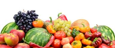 Φρούτα και λαχανικά συλλογής Στοκ Φωτογραφίες