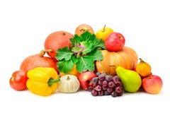 Φρούτα και λαχανικά συλλογής Στοκ Φωτογραφία