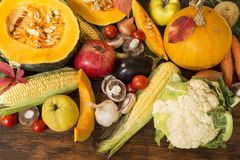 Φρούτα και λαχανικά στοκ εικόνα