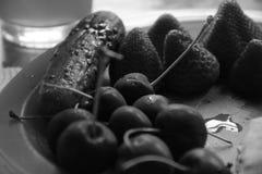 Φρούτα κινηματογραφήσεων σε πρώτο πλάνο Στοκ Εικόνες