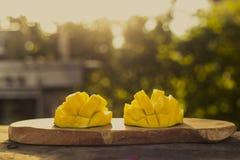 Φρούτα μάγκο υπαίθρια Στοκ φωτογραφία με δικαίωμα ελεύθερης χρήσης