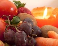 Φρούτα με το κερί Στοκ φωτογραφία με δικαίωμα ελεύθερης χρήσης