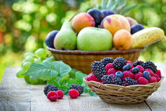Φρούτα μούρων - υγιή τρόφιμα Στοκ Εικόνες