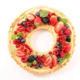 Φρούτα ξινά με την κρέμα στοκ εικόνες με δικαίωμα ελεύθερης χρήσης