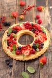 Φρούτα ξινά με την κρέμα στοκ φωτογραφία με δικαίωμα ελεύθερης χρήσης