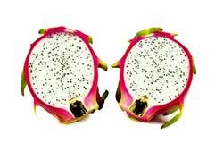 Φρούτα δράκων που απομονώνονται στο άσπρο υπόβαθρο Στοκ φωτογραφία με δικαίωμα ελεύθερης χρήσης
