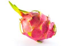Φρούτα δράκων στο άσπρο υπόβαθρο Στοκ Εικόνες