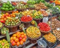 Φρούτα σε μια αγορά στοκ εικόνες με δικαίωμα ελεύθερης χρήσης