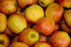 Φρούτα της Apple για την πώληση στην Κοπεγχάγη Δανία Στοκ Φωτογραφία