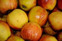 Φρούτα της Apple για την πώληση στην Κοπεγχάγη Στοκ Φωτογραφίες