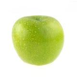Φρούτα της Apple με τις πτώσεις νερού που απομονώνονται Στοκ Φωτογραφίες