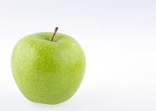 Φρούτα της Apple με τις πτώσεις νερού Στοκ Εικόνα