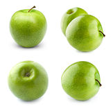 Φρούτα της Apple με το φύλλο Στοκ Φωτογραφίες