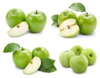 Φρούτα της Apple με το φύλλο Στοκ εικόνα με δικαίωμα ελεύθερης χρήσης