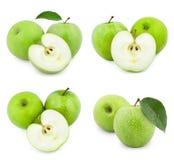 Φρούτα της Apple με το φύλλο Στοκ φωτογραφία με δικαίωμα ελεύθερης χρήσης