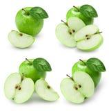 Φρούτα της Apple με το φύλλο Στοκ φωτογραφίες με δικαίωμα ελεύθερης χρήσης
