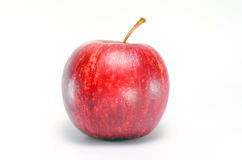 Φρούτα της Apple που απομονώνονται στο άσπρο υπόβαθρο Στοκ Εικόνες