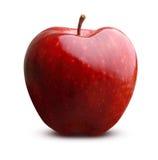 Φρούτα της Apple που απομονώνονται Στοκ Φωτογραφίες
