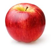 Φρούτα της Apple που απομονώνονται Στοκ εικόνες με δικαίωμα ελεύθερης χρήσης