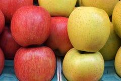 Φρούτα της Apple στην αγορά του Χογκ Κογκ Στοκ φωτογραφία με δικαίωμα ελεύθερης χρήσης