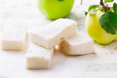 Φρούτα της Apple zephyr Στοκ εικόνες με δικαίωμα ελεύθερης χρήσης