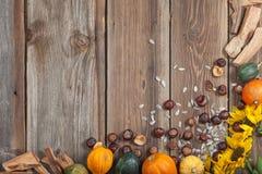 Φρούτα φθινοπώρου στον πίνακα Στοκ φωτογραφία με δικαίωμα ελεύθερης χρήσης