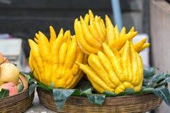 Φρούτα χεριών του Βούδα Στοκ Εικόνα