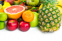 Φρούτα όλα από κοινού Στοκ Φωτογραφία