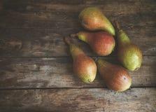 Φρούτα Ώριμα αχλάδια Στοκ Εικόνα