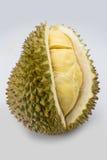 Φρούτα Durain στο άσπρο υπόβαθρο Στοκ Φωτογραφίες