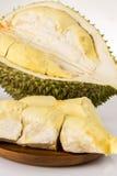 Φρούτα Durain στο άσπρο υπόβαθρο Στοκ φωτογραφία με δικαίωμα ελεύθερης χρήσης