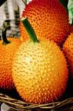 Φρούτα Gac πικρή κολοκύθα μωρών jackfruit ακανθωτή Στοκ φωτογραφία με δικαίωμα ελεύθερης χρήσης