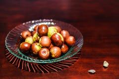 Φρούτα, jujube καφετί χρώμα σφαιρών πράσινο στοκ φωτογραφία με δικαίωμα ελεύθερης χρήσης
