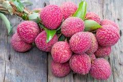Φρούτα Lichee Στοκ Φωτογραφίες