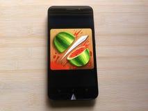 Φρούτα Ninja στοκ εικόνα με δικαίωμα ελεύθερης χρήσης