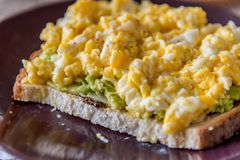 φρυγανιά αυγών Στοκ Εικόνες
