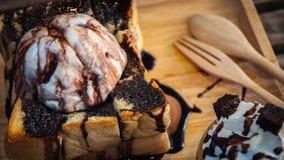 Φρυγανιά σοκολάτας Στοκ εικόνα με δικαίωμα ελεύθερης χρήσης