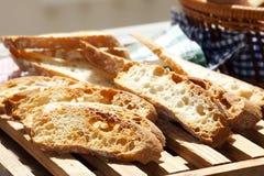φρυγανιά ψωμιού Στοκ Φωτογραφία