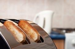 φρυγανιέρα κουζινών ψωμι&omi Στοκ εικόνα με δικαίωμα ελεύθερης χρήσης