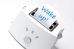 Φρυγανιέρα ξυπνήστε Στοκ εικόνες με δικαίωμα ελεύθερης χρήσης