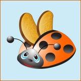 Φρυγανιέρα Ladybug Στοκ εικόνα με δικαίωμα ελεύθερης χρήσης