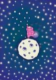 φτάστε τα αστέρια Στοκ φωτογραφία με δικαίωμα ελεύθερης χρήσης