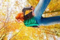 φταμένο Φθινοπωρινή ημέρα έξω στοκ εικόνες με δικαίωμα ελεύθερης χρήσης