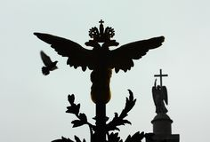 Φτερά Αγίου Πετρούπολη Ρωσία Στοκ Εικόνες