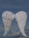 φτερά διακοπών Χριστουγέν Στοκ Εικόνες