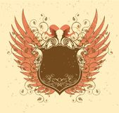 φτερά κέρατων Στοκ φωτογραφία με δικαίωμα ελεύθερης χρήσης