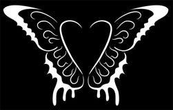 φτερά καρδιών Στοκ Εικόνες