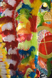 φτερά καρναβαλιού Στοκ φωτογραφία με δικαίωμα ελεύθερης χρήσης